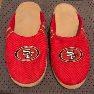 49ers men's slippers